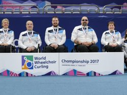 Bronze for Scotland at World Wheelchair Curling Championships