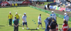 Bowlers at the Glasgow 2014 Commonwealth Games