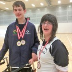 Gavin and Kerry with medals