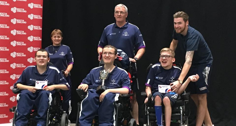 Medal Success at UK Boccia Championships