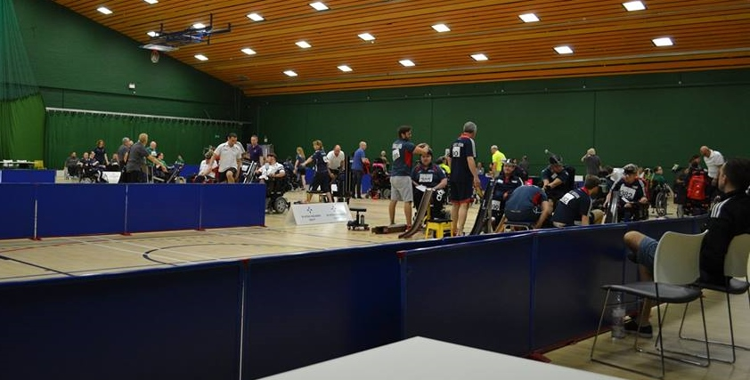 Results from Day 1 of the First Scottish International Boccia Open Competition