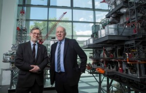 Prof Ferdinand von Prondzynski and Sir Ian Wood