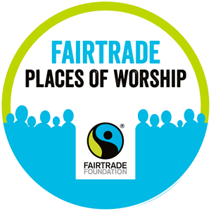 Fairtrade places of worship sign