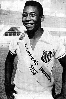 Pele - Santos 1958