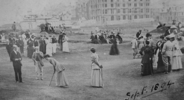 Ladies' golf club, St. Andrews Links, North Berwick, 1894 [www.scottishgolfhistory.org]