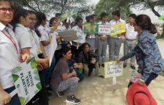 Green Warriors for planting Aravalli native species at Bundh (1)