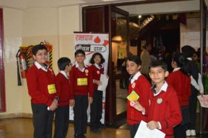 Blood Donation Camp at Scottish High International School