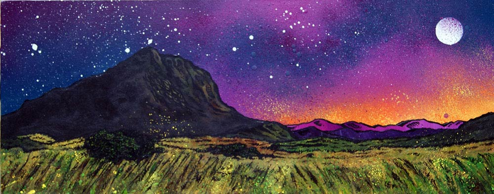 Paintings & Prints Edinburgh Arthur's Seat Sunrise Scotland