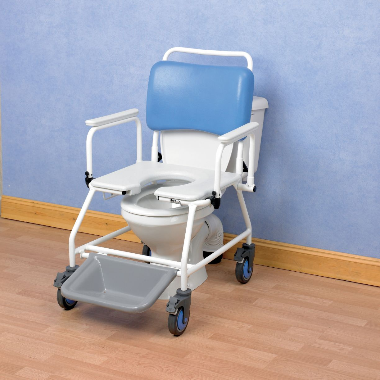 shower chair commode black wingback and atlantic bariatric with footrests