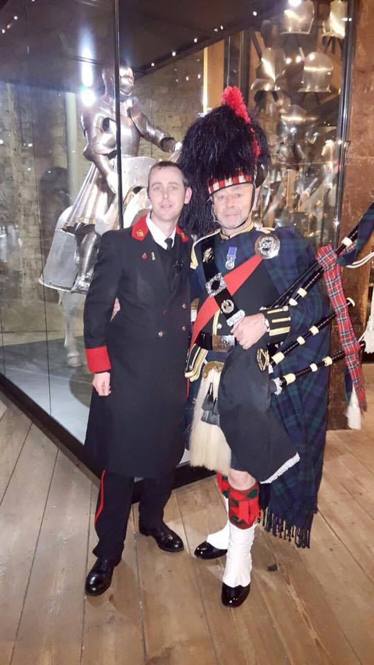 kent and sussex bagpiper