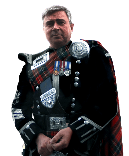 Stirling Bagpiper