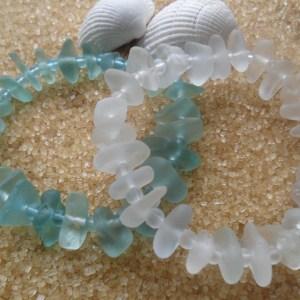 Simply Sea Glass Bracelets