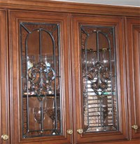 Stained Glass Kitchen Cabinet Doors | www.imgkid.com - The ...