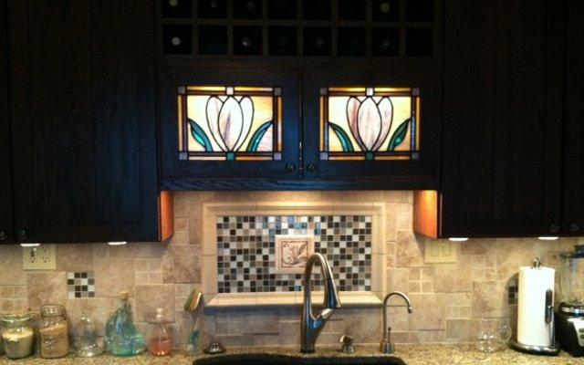 kitchen cabinet repair black cart kitchens | scottish stained glass custom studio