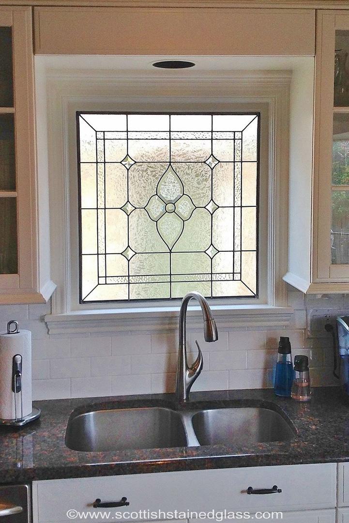 Kitchens  Scottish Stained Glass  Custom Studio