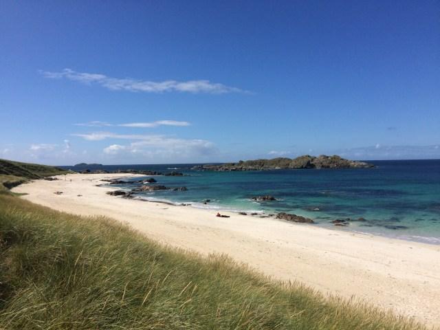 Calbha Bay Iona Wild Swimming Scottish Swimmer