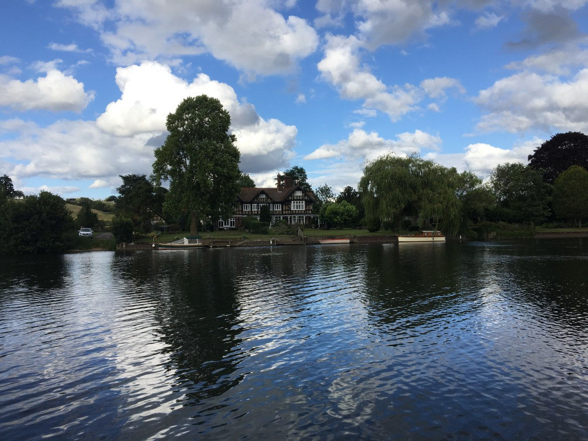 Henley on Thames Flowerpot wild swim