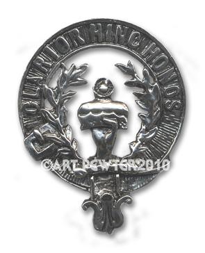 Buchanan Clan Crest Badge