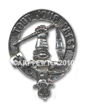 Carmichael Clan Crest Badge