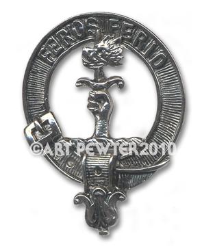 Chisholm Clan Crest Badge