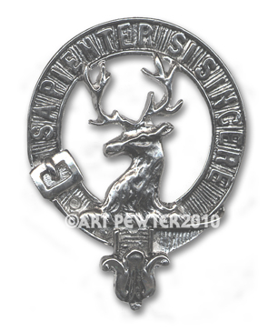 Davidson Clan Crest Badge