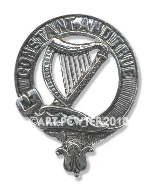 Rose Clan Crest Badge