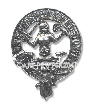 Urquhart Clan Crest Badge