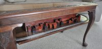 """ANtique"" N-scale Coffee Table Train Layout"
