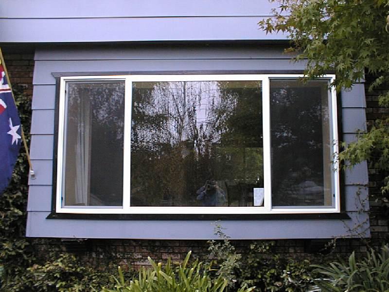 New Rumpus Room Door and Front Window