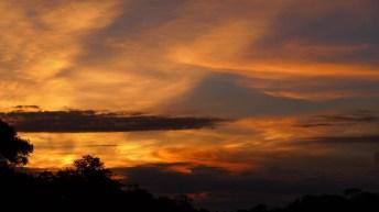 Sunset on the Pantanal