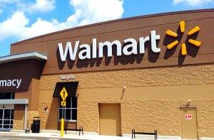 Walmart Store front image