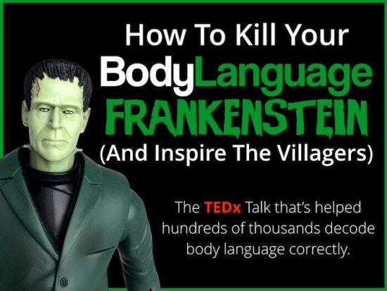 scott rouse - tedx talk - ted talk - body language frankenstein - body language expert
