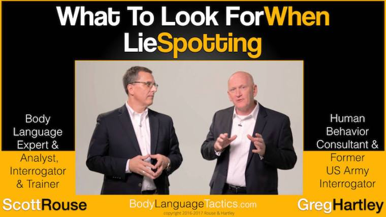Scott Rouse and Greg Hartley - Lie Spotting - number 1