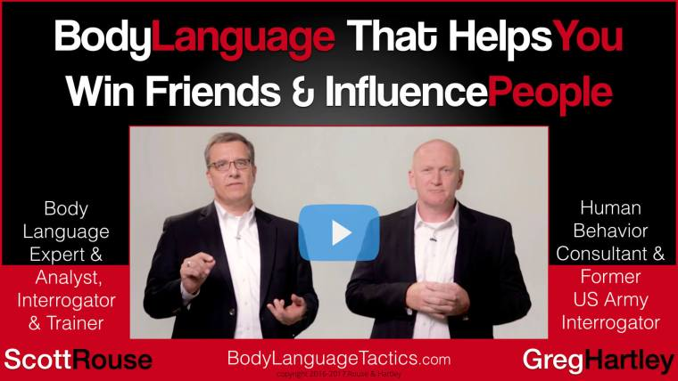 Scott Rouse - Greg Hartley - Body Language Experts - Consultants