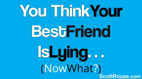 Scott Rouse - Best friend is lying - Body language expert - keynote speaker - tedx speaker