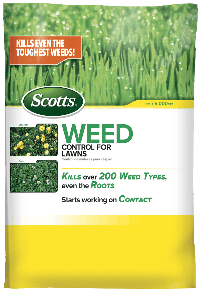 Scotts Weed Control For Lawns Kills Weeds Guaranteed