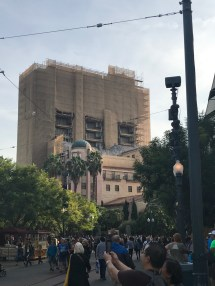 Pictures of Hollywood Tower of Terror Ride at Disneyland