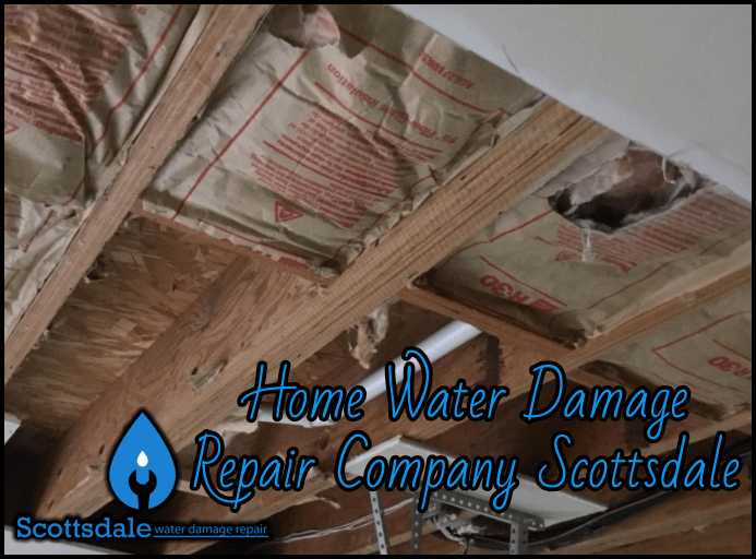 Home Water Damage Repair Company Scottsdale