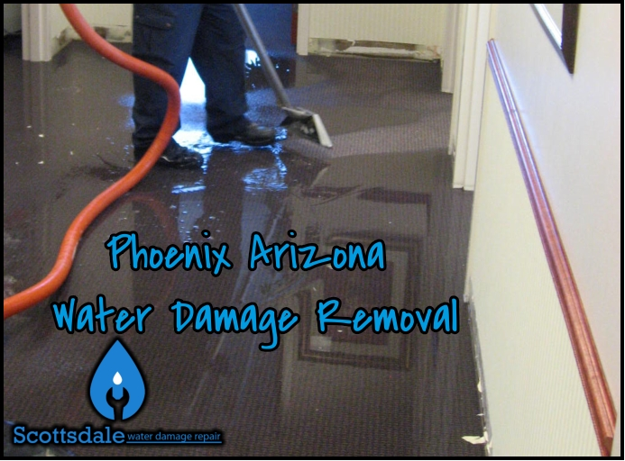 Phoenix Arizona Water Damage Removal