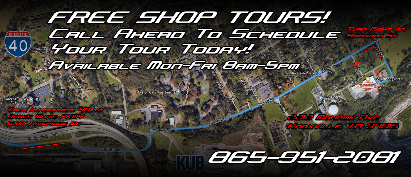 hight resolution of  how to get to scotts hotrods knoxville