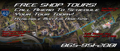 small resolution of  how to get to scotts hotrods knoxville