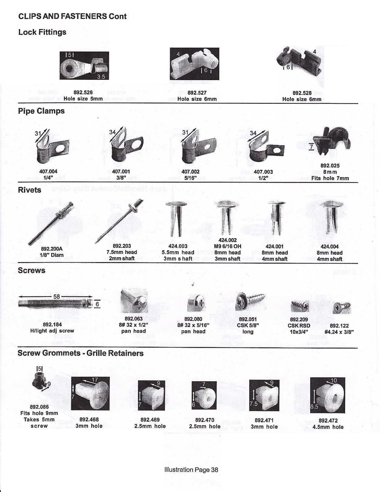 Scott Old Auto Rubber Catalogue