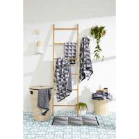 Bamboo Towel Rack Ladder Holder Clothes Rung Rail Shelf ...