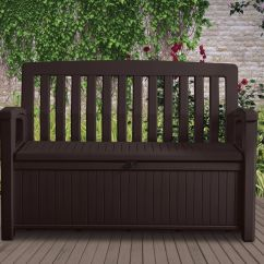 Storage Box Chair Philippines Pads With Ruffles Patio Bench Keter Outdoor Seat Garden