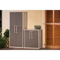 Keter Optima Wonder Outdoor Storage Cabinet Indoor 1.8 M ...