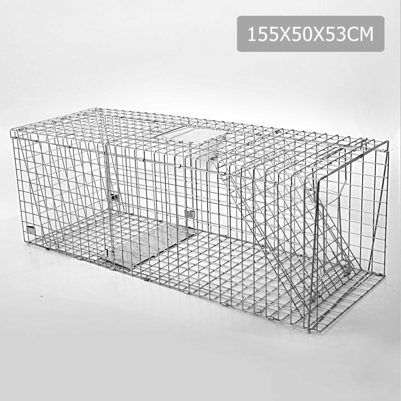folding chair trap travel high seat argos humane animal cage possum rat cat rabbit