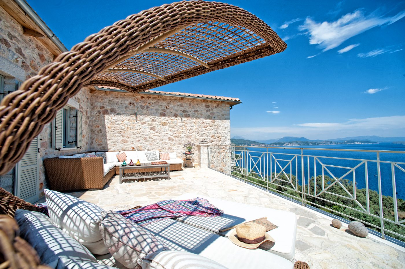 Kalokairi A Luxury Villa In Lefkada Greece To Sleep 10