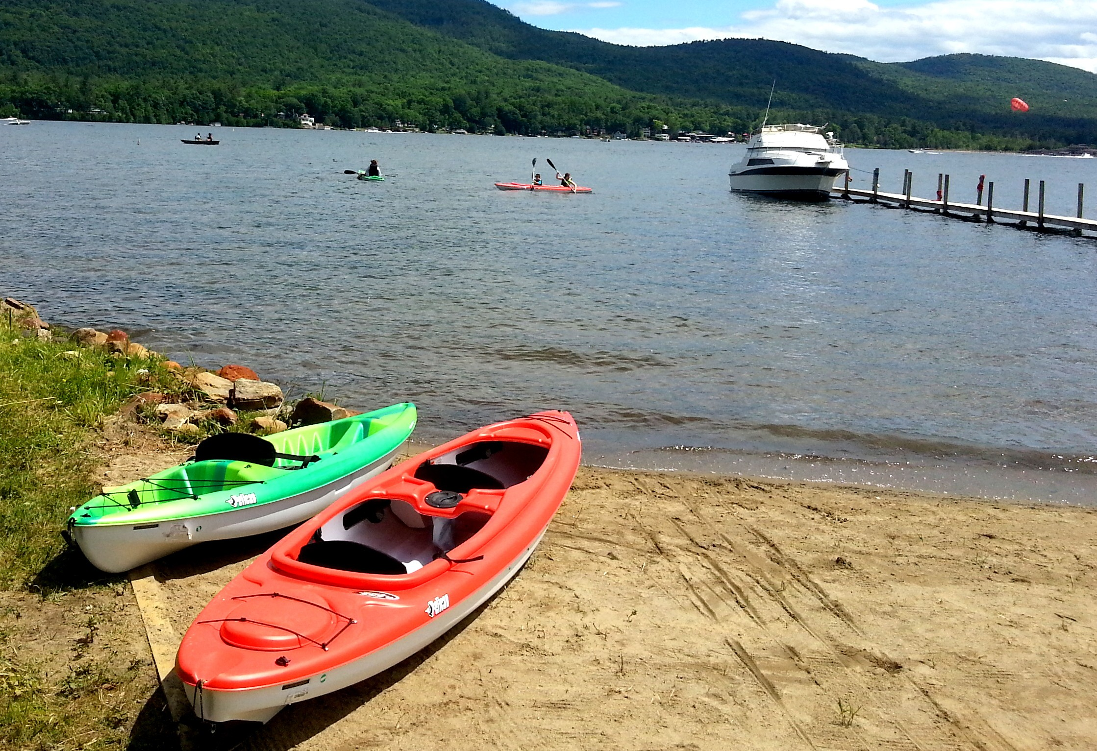 Lake George Ny Resort Offering Activities Including Water
