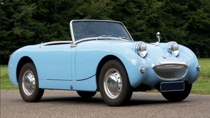 Austin Healey Sprite Mk I Frogeye Parts Manual