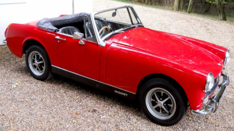 Topic simply mg midget parts and accessories